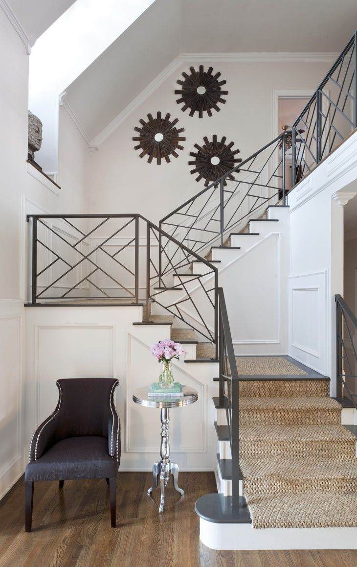i REALL REALLY like this a lot!! metal railing and nice staircase!