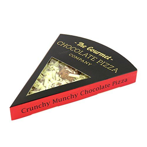 Genuine Crunchy Munchy Gourmet Chocolate Pizza Company Pizza Slice Perfect Gift Present for Birthday Christmas Party Thank You Anniversary Graduation Exam Results