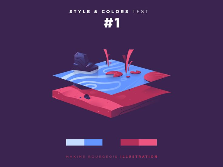 Style & Colors: Lake by Maxime Bourgeois More