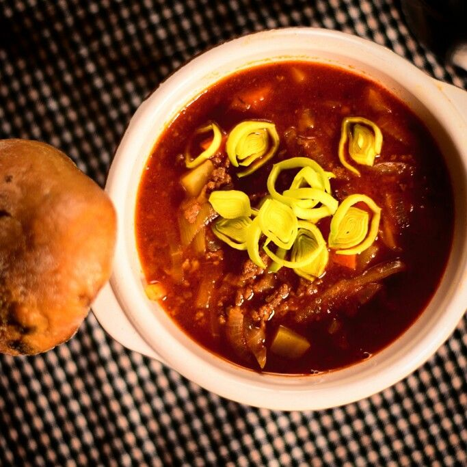 Varm soppa