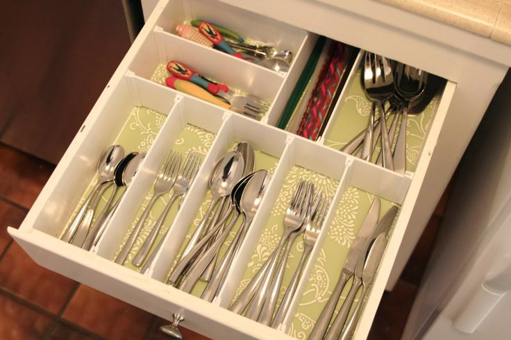 simply organized-kitchen drawers | For the Home | Pinterest
