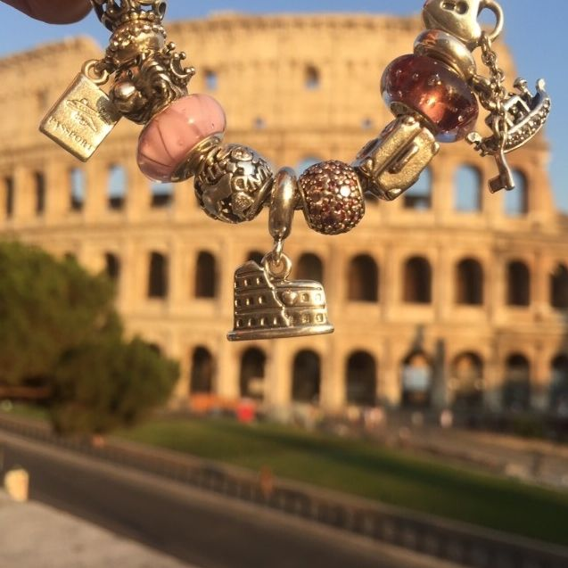 Amazing Colosseum in Rome captured by Elena Galea (Instagram: @elenagalea) Share your favorite travel moments on Instagram for the chance to win a travel inspired bracelet. Click the image for more information. :) #PANDORAtravelcontest