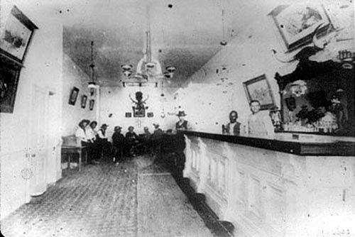 historic photos of kansas | ... original Long Branch Saloon, courtesy Ford County Historical Society