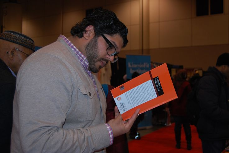 """#FethullahGulen 's latest #book """"Journey to Noble Ideals"""" met #Canadian readers at #risconvention"""