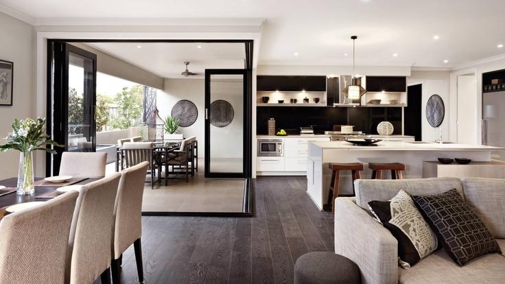 Atlantique lounge, kitchen