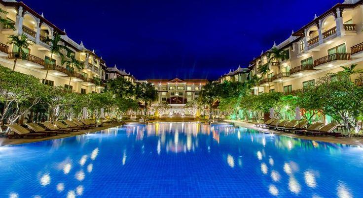 泊ってみたいホテル・HOTEL|カンボジア>シェムリアップ>シェムリアップ中心部に位置する豪華なリゾートホテル>ソカ アンコール リゾート(Sokha Angkor Resort)