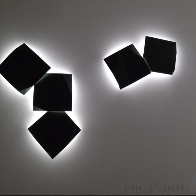 Vibia Wall Lights - Fold Superficie  2012 Light Exhibition Frankfurt Germany