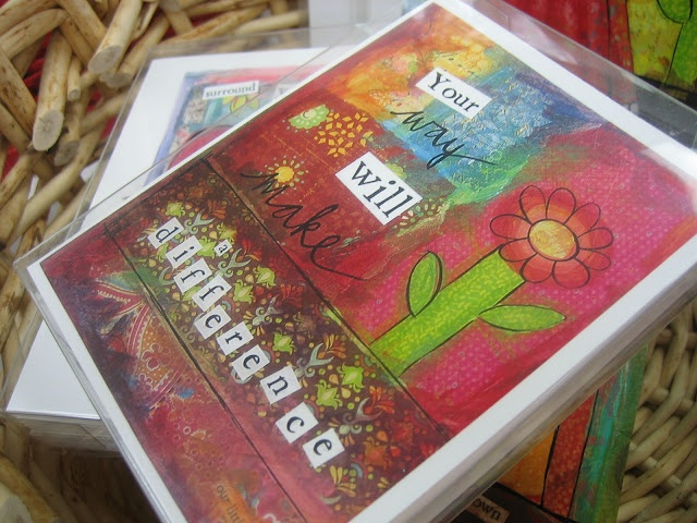 Textures:a combined effort of area artisansa.k.a. Textures Craftworks  - 8 note cards by Patti Fortune - $20