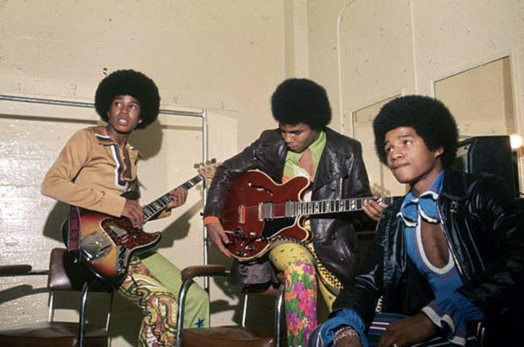Jermaine, Tito & Jackie Jackson