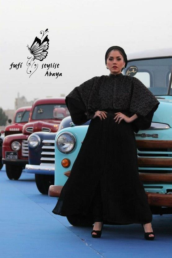 #Arab #Abaya #fufi #2013 #SS #haute #couture #fashion #colours #inspiration #mood #love #passion #like #elegant #pink #pastel #board #beauty #beautiful #arabian #hautearabia #haute arabia #home