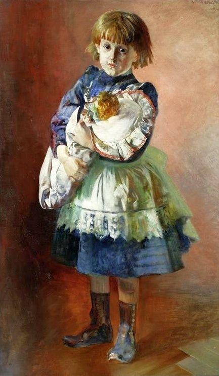 by Jacek Malczewski, (Polish 1854-1929)