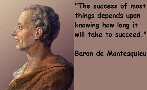 who was baron de montesquieu quotes Google Search