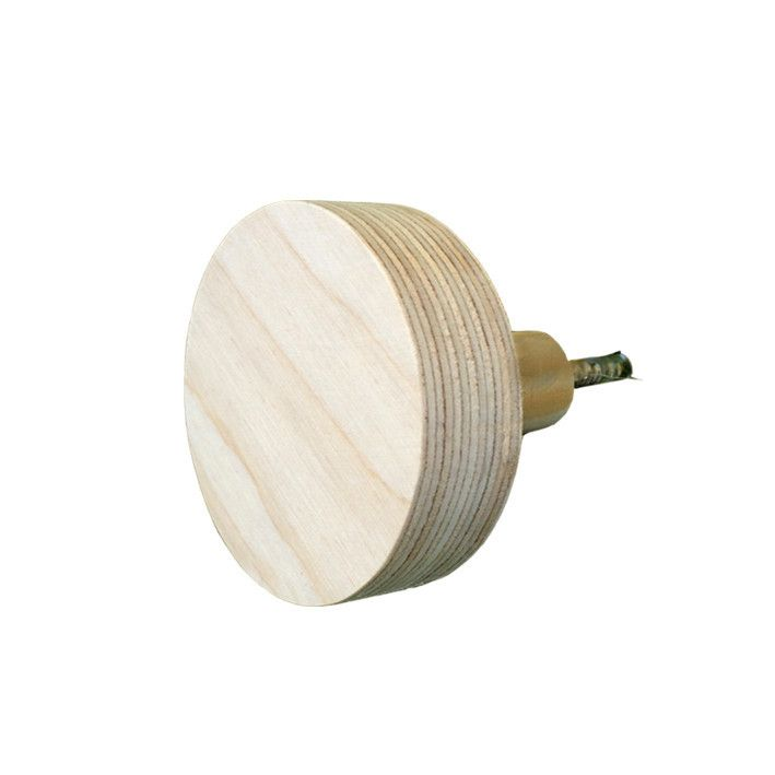 The Hook Co. Little Circle Wooden Hook - Natural