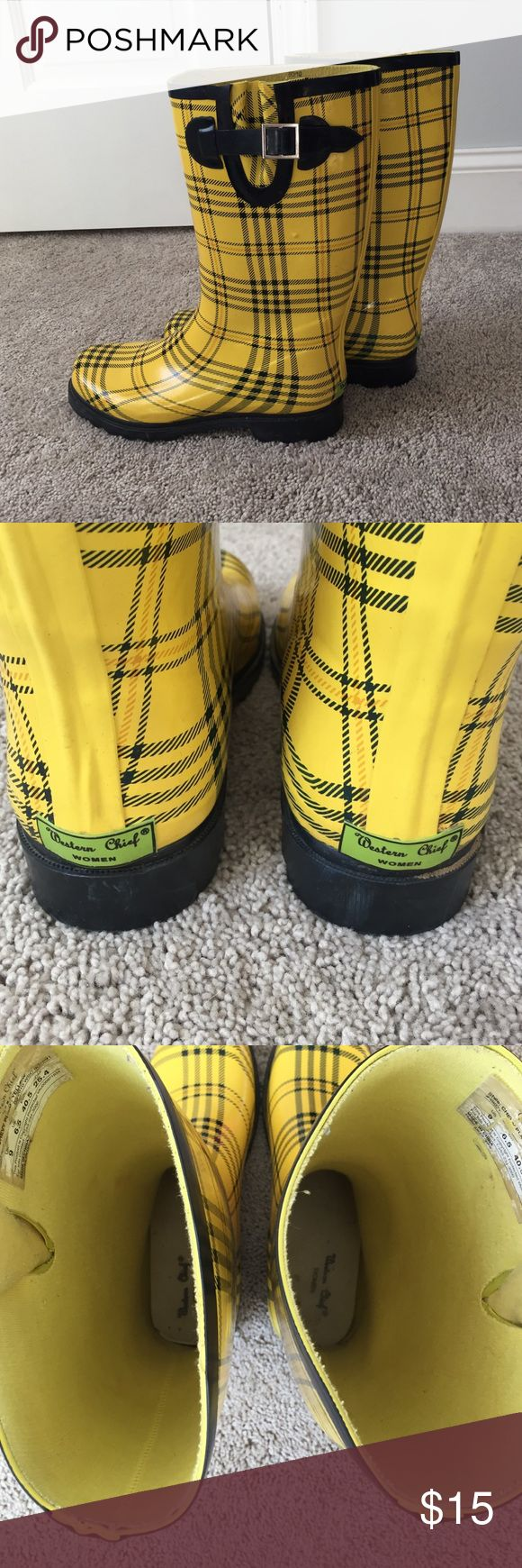 Western chief rain boots Rain boots in good used condition. A lot of life left! Western Chief Shoes Winter & Rain Boots