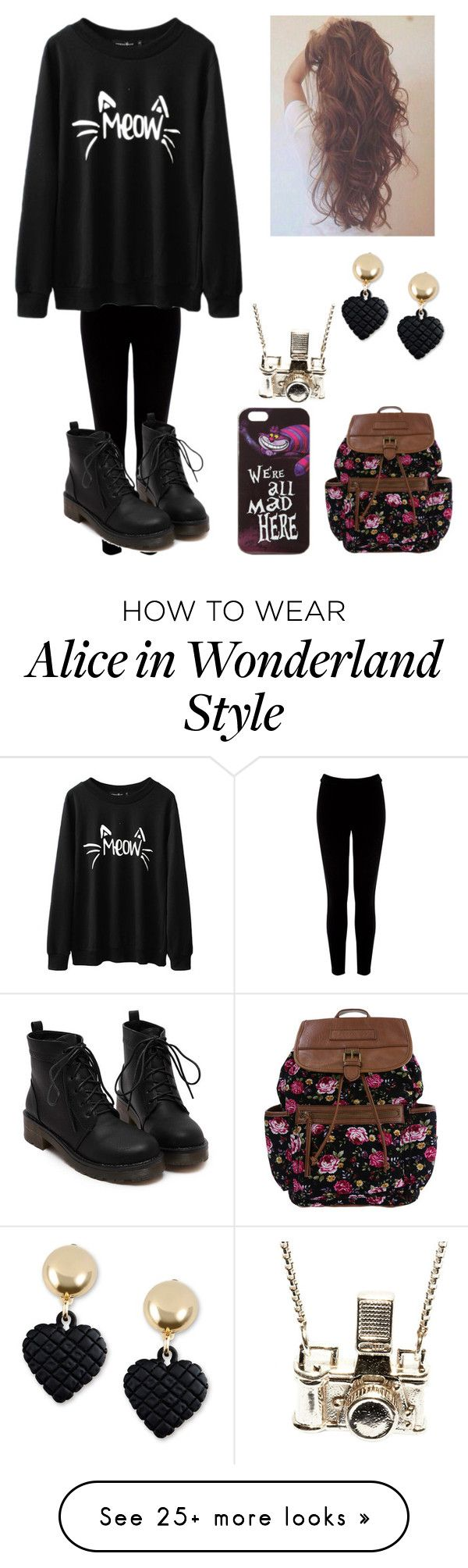 """""""Untitled #529"""" by auroraloves1d on Polyvore featuring Warehouse, Disney, Moschino and Kiel Mead Studio"""