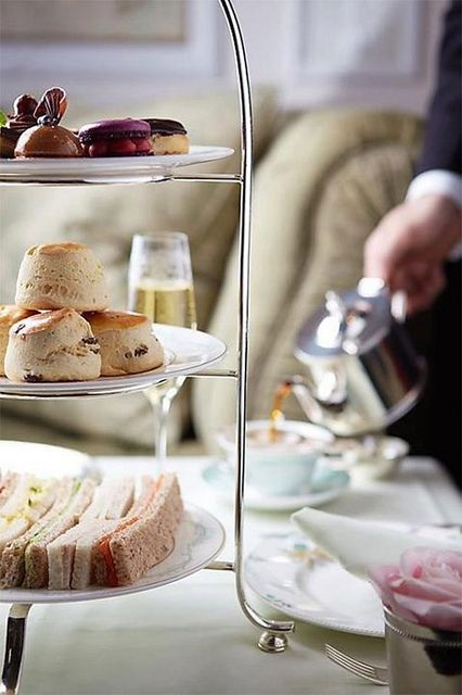 {two lovely things : afternoon tea} by {this is glamorous}, via Flickr