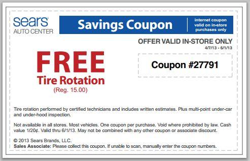 sears coupon code car battery