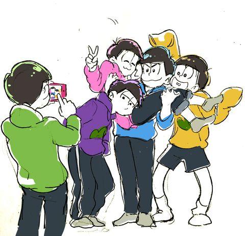 「むつごちゃんたち2」/「えびも(もじさん)」の漫画 [pixiv]