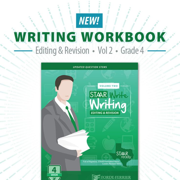 20 best staar resources images on pinterest standardized test write writing workbooks grade 4 vol 2 specialize in editing and writing and are fandeluxe Images