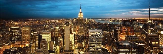 The stunning skyline of New York City
