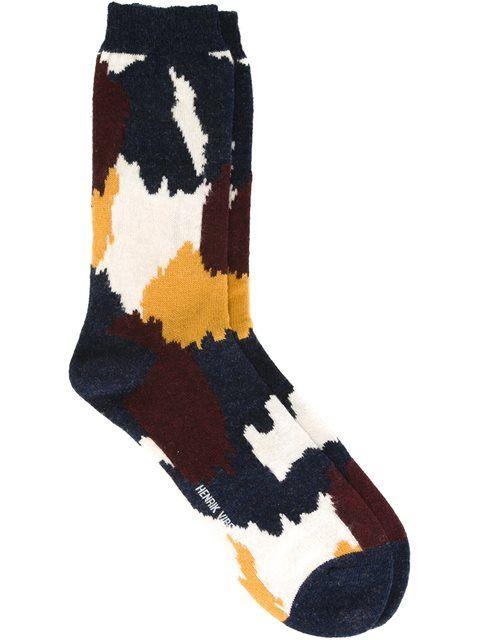 Henrik Vibskov 'Brush' socks