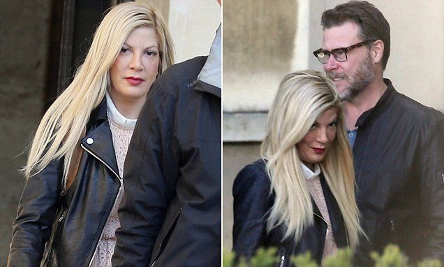 Tori Spelling is stranded in Paris after contractingbronchial pneumonia | Daily Mail Online
