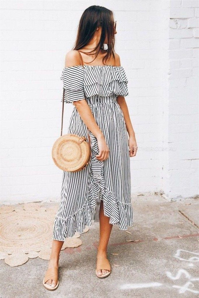 dac2d845bc8 Most Trendy Summer Outfits To Upgrade Your Wardrobe 07  fashion  ootd
