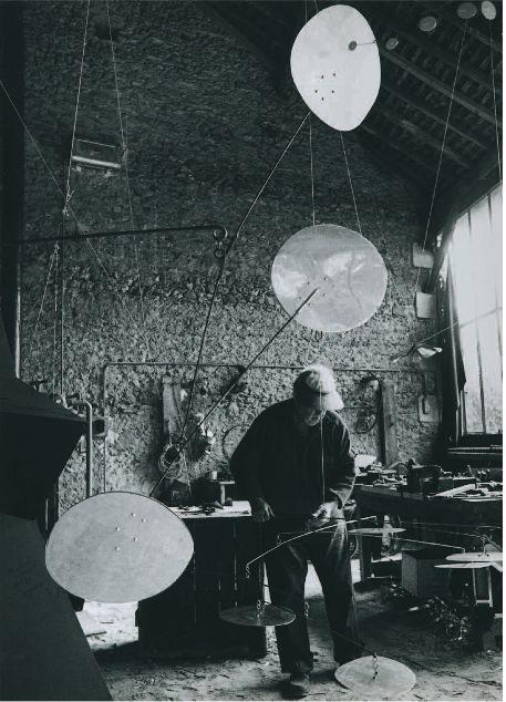 Alexander Calder by Ugo Mulas, 1962