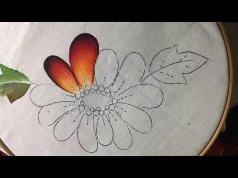Pintura En Tela Catarinas # 2 Con Cony - YouTube