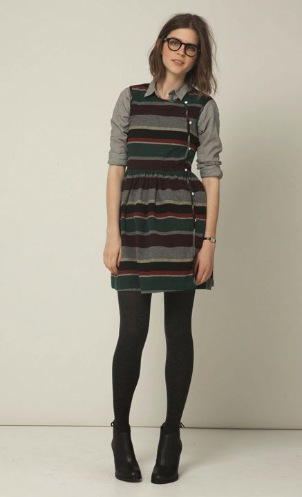 Steven Alan — Agnes dress.  I kind of like librarian chic.  I'm a nerd.