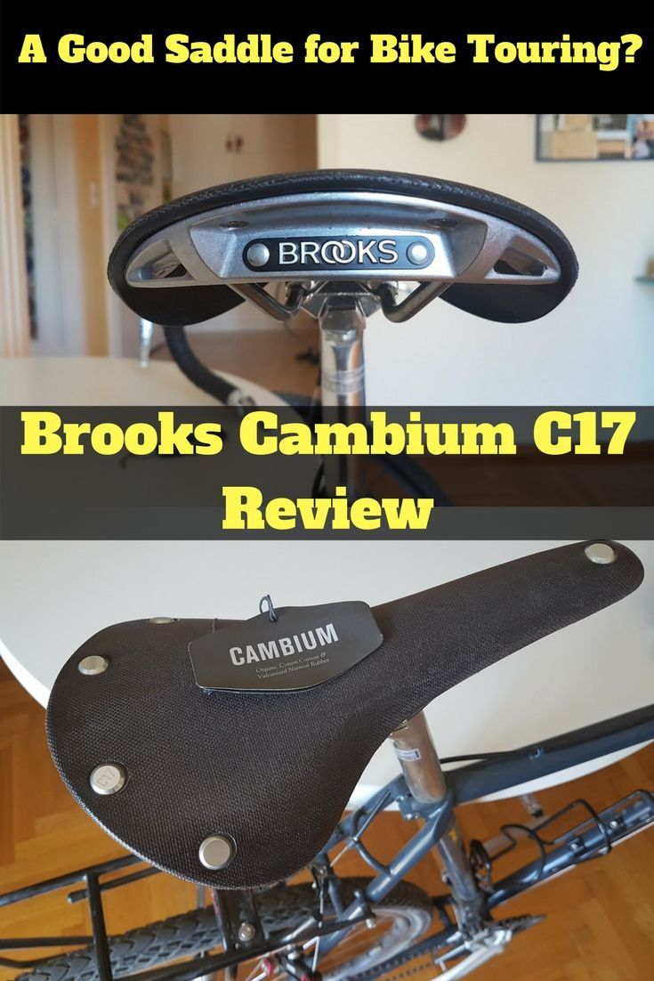 Is the Brooks Cambium C17 a good choice for bike touring? Let's take a look...