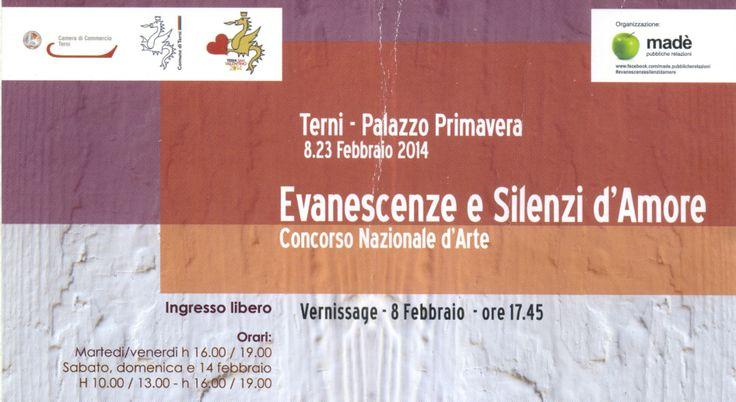#evanescenzeesillenzidamore  #terni #art #arte #contemporanea