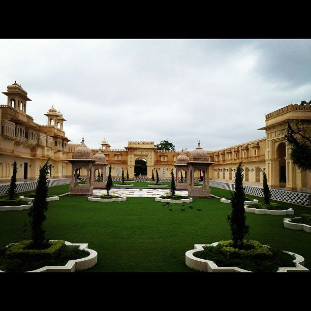 """""""Love the landscaping"""" at The Oberoi Udaivilas, Udaipur"""