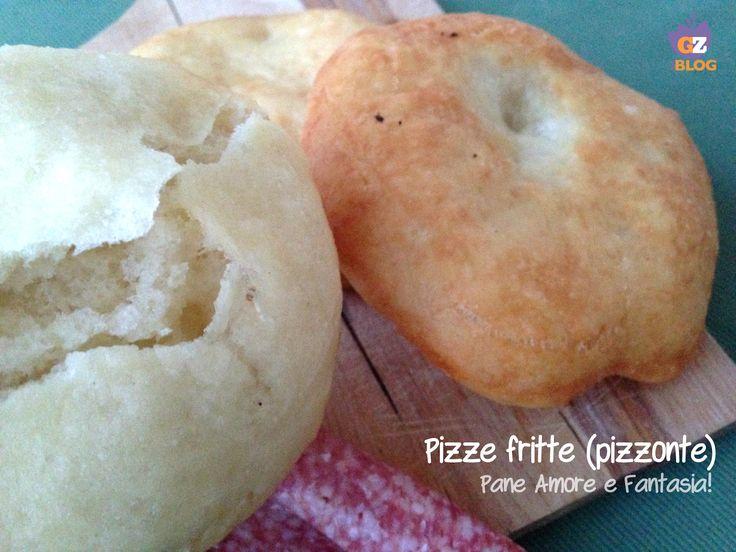 """Le pizze fritte, in Abruzzo chiamate """"pizzonte"""", sono delle gustosissime frittelle da mangiare calde ed eventualmente farcite con affettati e formaggi."""