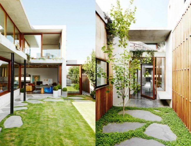 die besten 25 minimalistischer garten ideen auf pinterest buchsbaum moderne g rten und. Black Bedroom Furniture Sets. Home Design Ideas