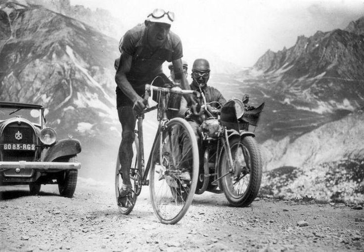 Tour de France 1934. 10-07-1934, 7^Tappa. Aix-les-Bains - Grenoble. Col du Galibier. Federico Ezquerra (1909-1986)