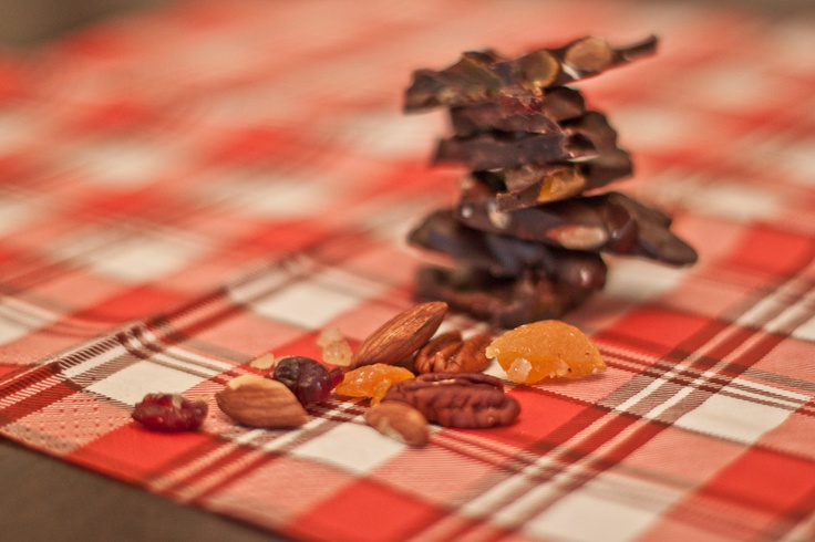 Savour Sisters: Day 2: Chocolate Bark with Fruit and Nuts
