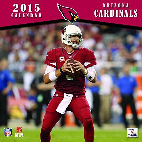 Turner Perfect Timing 2015 Arizona Cardinals Team Wall Calendar, 12 x 12 Inches (8011686)