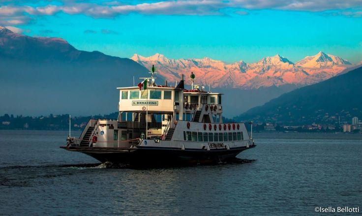 Lago Maggiore e Monte Rosa sullo sfondo