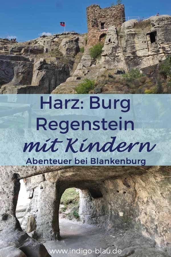 Harz mit Kindern: Burg Regenstein ist das perfekte Ausflugsziel