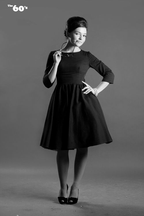 Мода и стиль 50-х годов