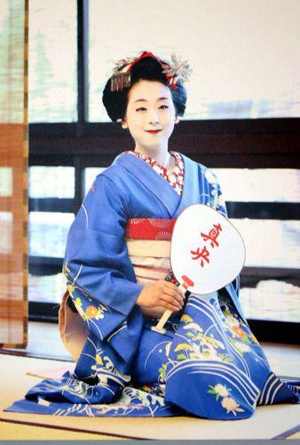 舞妓(まいこ)姿に挑戦した浅田(c)Japan Sports (338×500) 「真央「夢のような」舞妓姿 祇園は騒然」 http://www.nikkansports.com/sports/news/p-sp-tp0-20140806-1346397.html