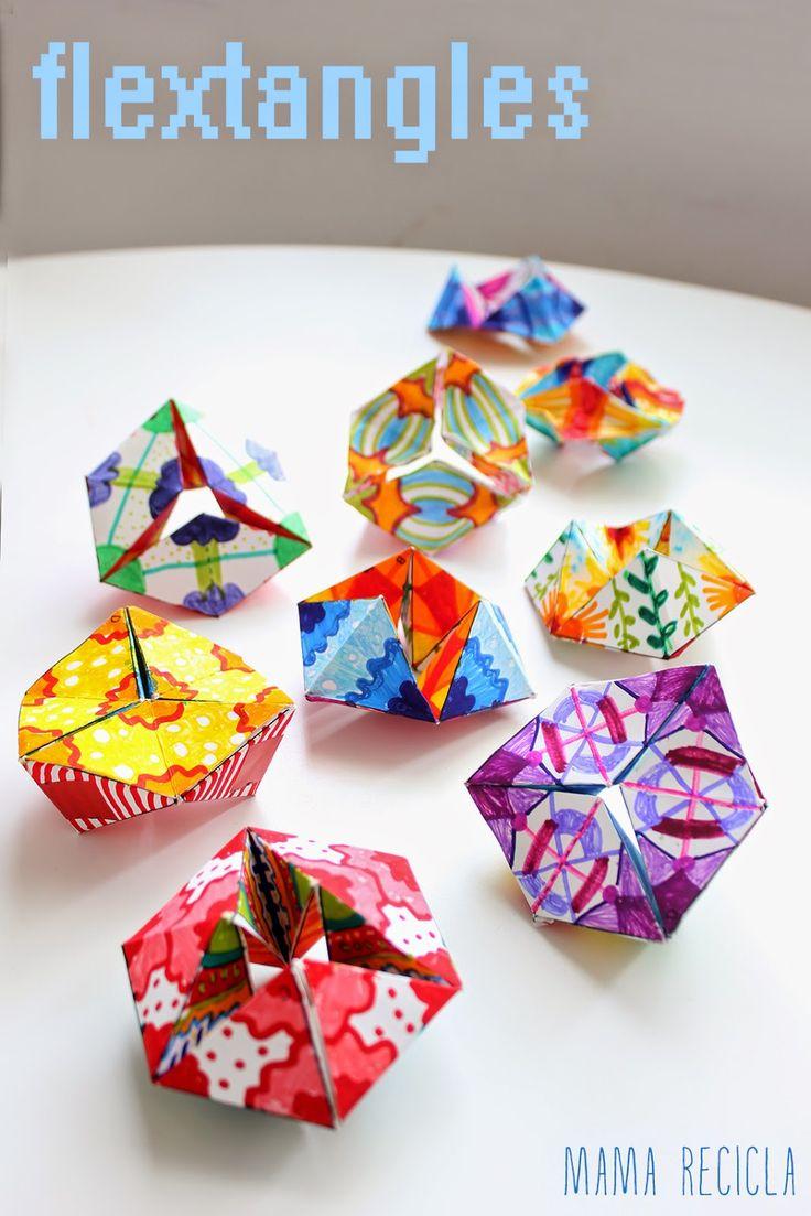 Mamà recicla: Flextangles