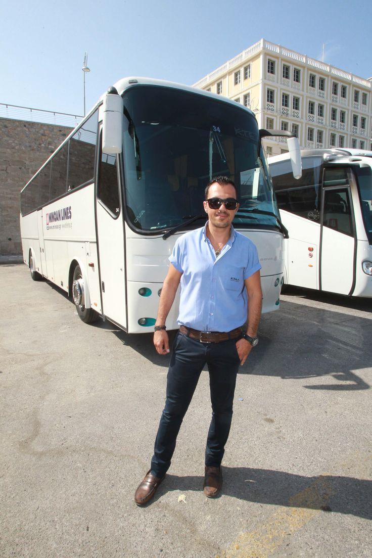 #crete #bus #people