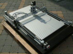 Gebrauchtmaschine Haase Cut 300 P-L CNC Fräsmaschine mit T Nutentisch