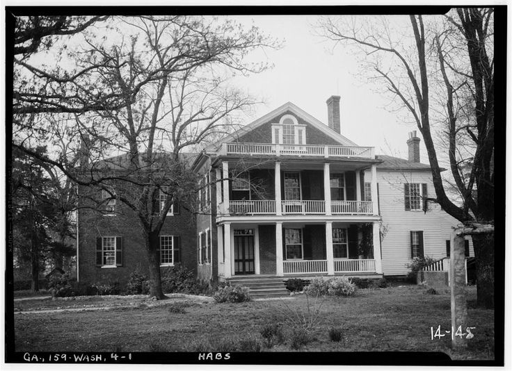 Gilbert-Alexander-Wright House, 312 North Alexander Avenue, Washington, Wilkes County, GA