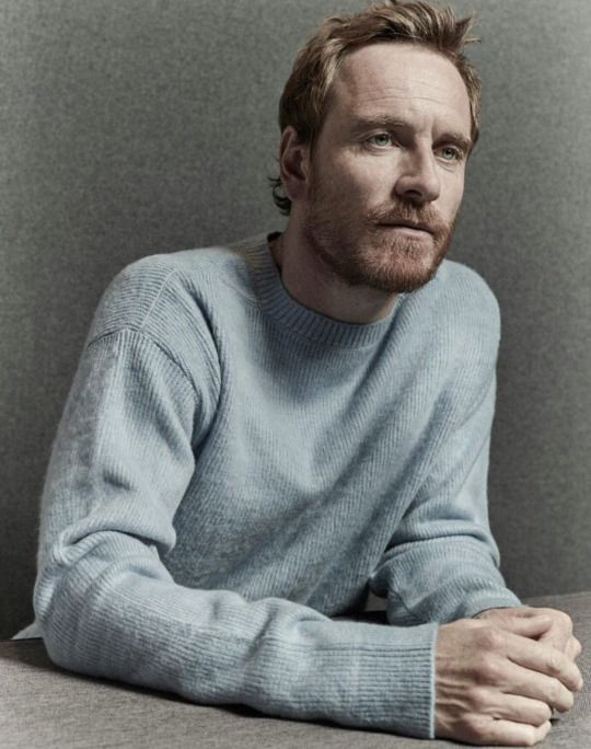 Michael Fassbender photographed by Brendan Freeman for the Guardian, 2016