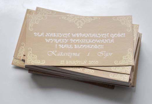 projekt ŚLUB - zaproszenia ślubne, oryginalne, nietypowe dekoracje i dodatki na wesele: Kasia_Igor