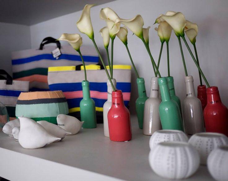 Visit our Showroom #home #decor #decorative #objects  #vase#minimal #ideas #livingroom #colour #white #serax