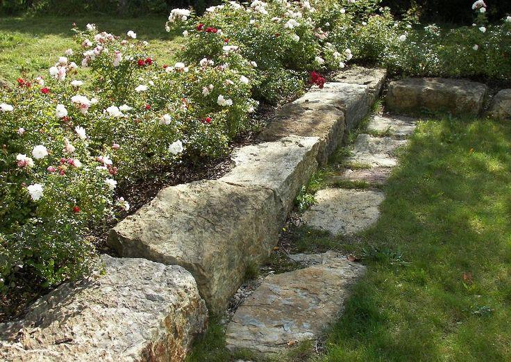 66 besten Hang   Gartenmauer   Zaun Bilder auf Pinterest - garten am hang anlegen